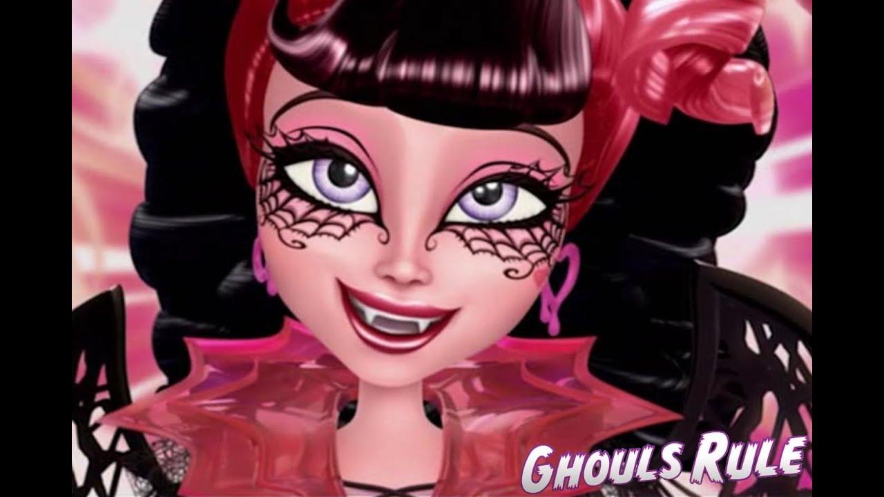 Monster High Draculaura Ghouls Rule Makeup Tutorial  YouTube