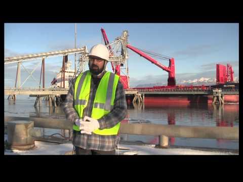 New international export at Port MacKenzie