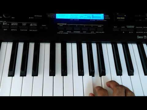 Aawaz do humko | Dushman | Keyboard / Piano Instrumental