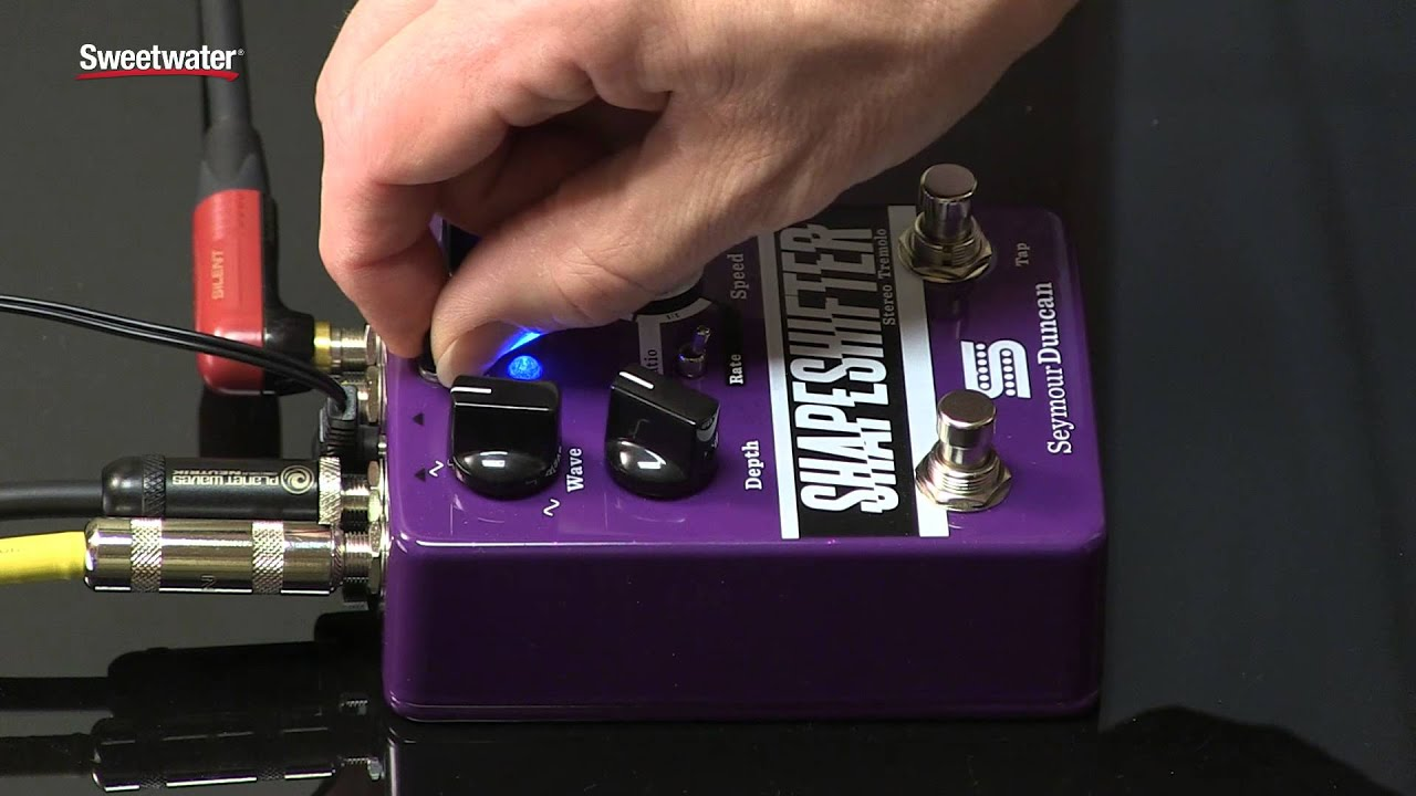 seymour duncan shape shifter stereo tremolo pedal review by sweetwater sound youtube. Black Bedroom Furniture Sets. Home Design Ideas