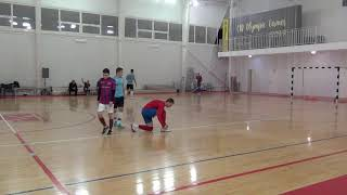 Виоком Орбита Техно 1 й тайм Чемпионат мини футбол 2019 20