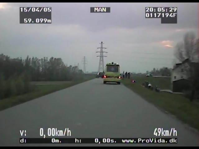 Blik op de Weg OFFICIAL - Fragment Motorongeval en gesprek motorrijder