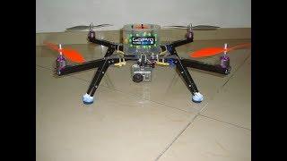 ArduCopter 3DR -- indoor Hovering test