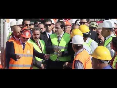 COLAS RAIL TUNISIE - RFR Tunis - Démarrage des travaux - Octobre 2016