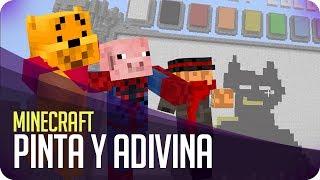 Pinta y Adivina!! Equisdelol! | Minecraft