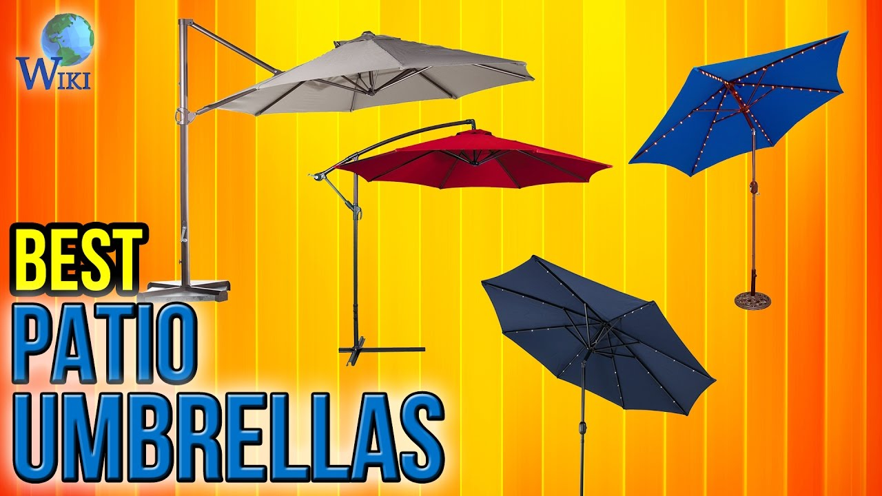 10 best patio umbrellas 2017