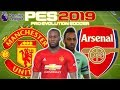 Man Utd vs Arsenal Prediction   English Premier League 5th Dec   PES 2019 Gameplay