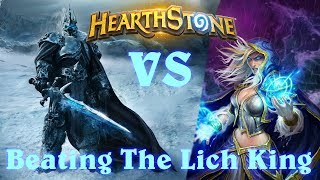 Hearthstone | Beating The Lich King With Mage