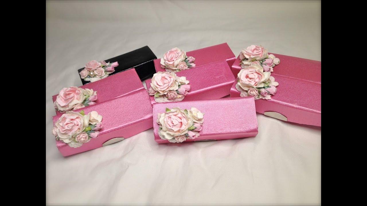 Shabby Chic Valentine\'s Lipstick Cases - YouTube