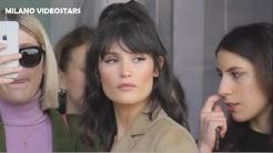 Gemma ARTERTON @ Milan Fashion Week 20 february 2020 show Prada / Milano