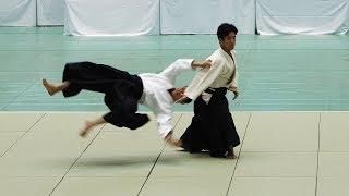 UESHIBA Mitsuteru Dojo-cho - 57th All Japan Aikido Demonstration 2019