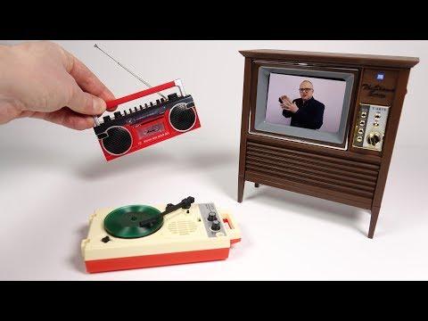 Mini Retro Electronics From Japan