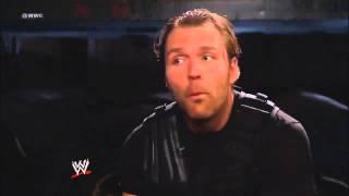 Dean Ambrose sings fandango