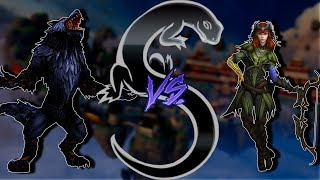 Smite - Masters Ranked 1v1 Duel Fenrir VS Artemis (Description)