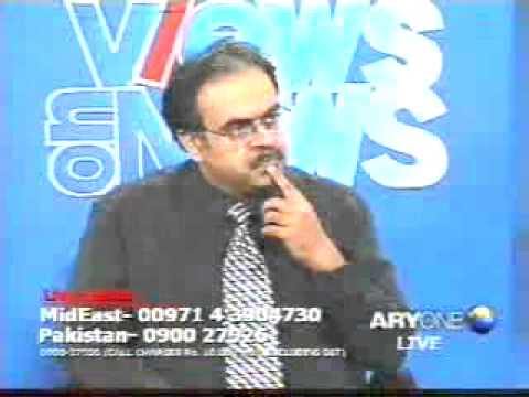 Dr Zakir Naik & Dr Shahid Masood Q&A in program Views on News  clip1