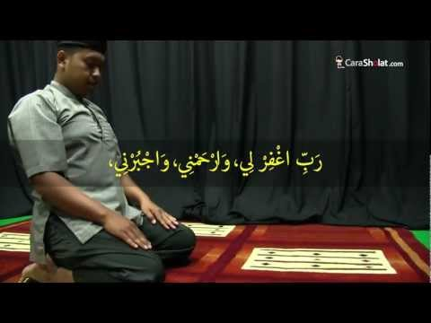 35. Tutorial Cara Sholat Nabi: Bacaan Doa Duduk Antara Dua Sujud (Revisi) - CaraSholat.com