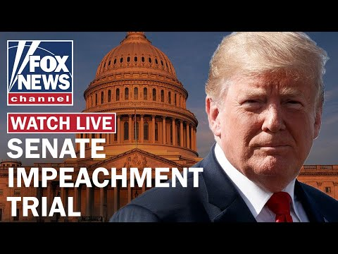 Fox News Live: Senate Impeachment Trial Of President Trump Day 2