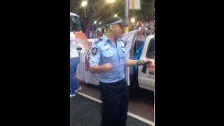 Sydney Gay & Lesbian Mardi Gras - AFP Cop with the Bop! Aussie Fed Groovin, Shakin and a Movin...
