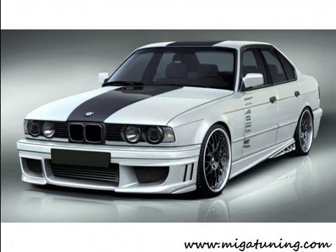 bmw 5 series e34 tuning body kits youtube. Black Bedroom Furniture Sets. Home Design Ideas