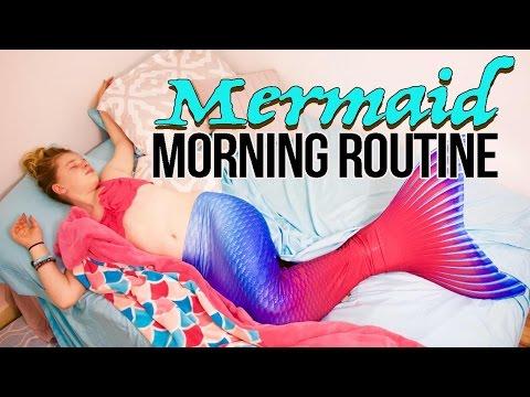 Mermaid Morning Routine | BlueEyedJackson