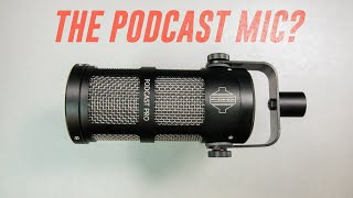 Sontronics Podcast Pro Mic Review / Test (Compared to Rode Podmic, SM58, & M201TG)