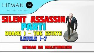 Hitman: GO - Definitive Edition - Silent Assassin Walkthrough - Levels 1-7