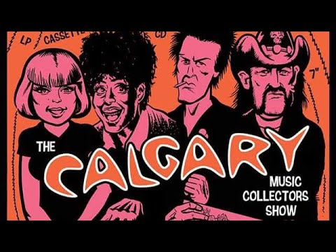 Recap from the Calgary Music Collectors Show Fall 2017