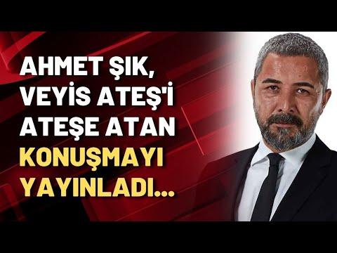 Ahmet Şık, Veyis Ateş'i ateşe atan konuşmayı yayınladı...