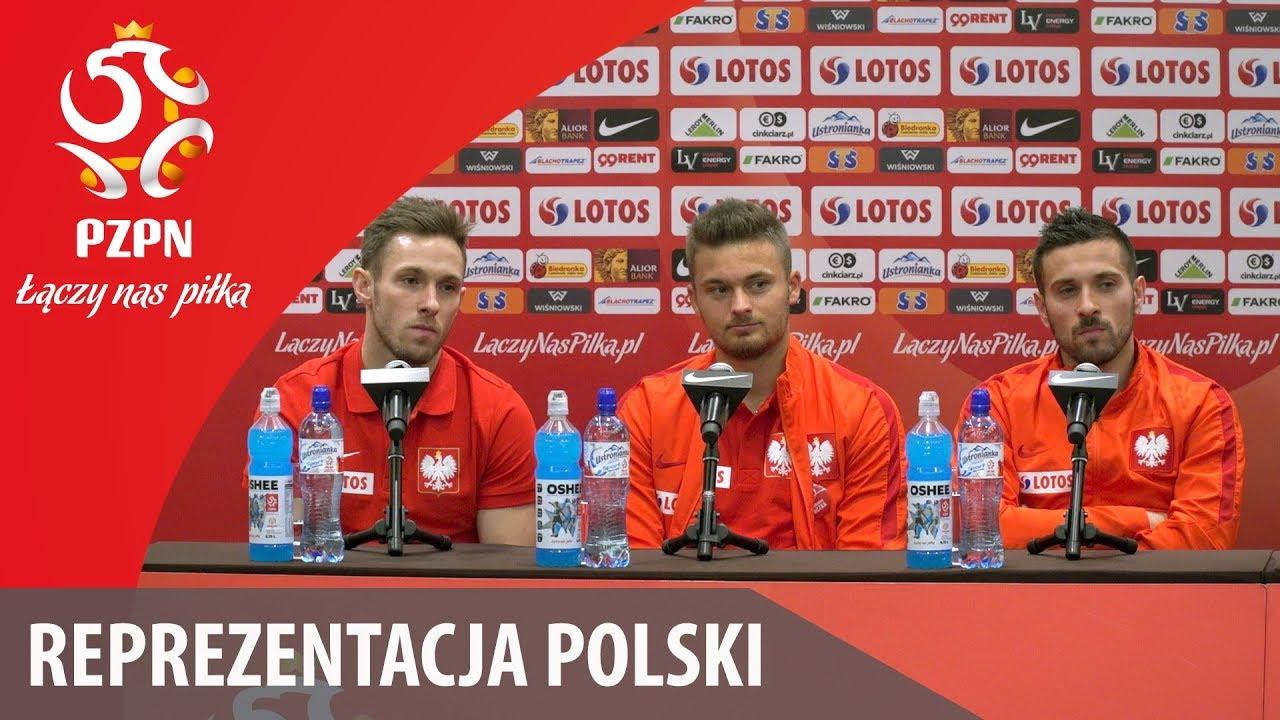Konferencja reprezentacji Polski (Warszawa, 8.11.2017)