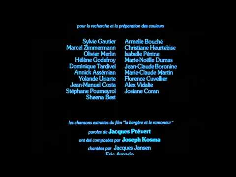 Le Roi et l'oiseau - Epilogue (and ending credits)