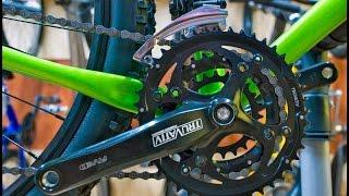 Как поменять переднюю звезду на велосипеде Stels Navigator 570 2015 г.