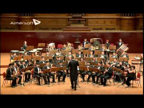 """Fanfare"" by Hugo Montenegro , DSWO live in Taipei Jan. '15"