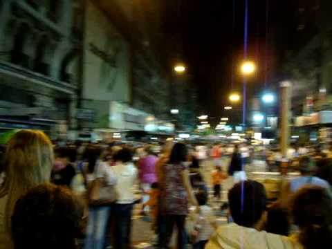 Night in Montevideo - carnaval