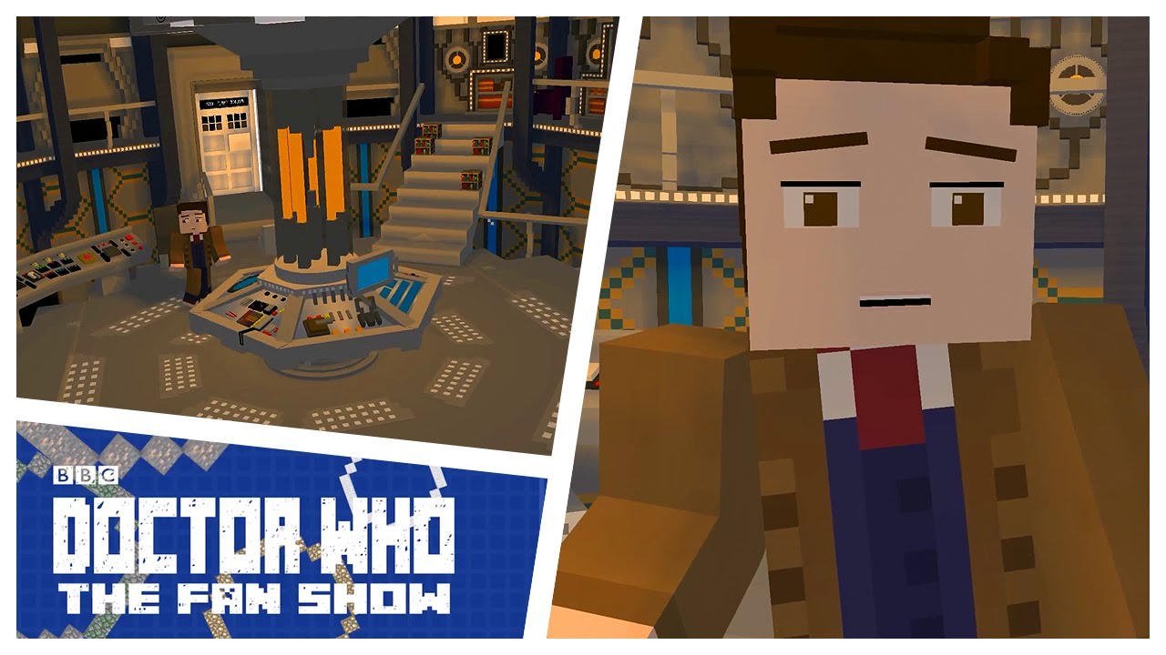 Doctor Who Minecraft   Doctor Who The Fan Show   YouTube