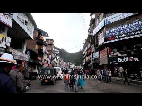 Shopping and market-place in Mandi, Himachal Pradesh