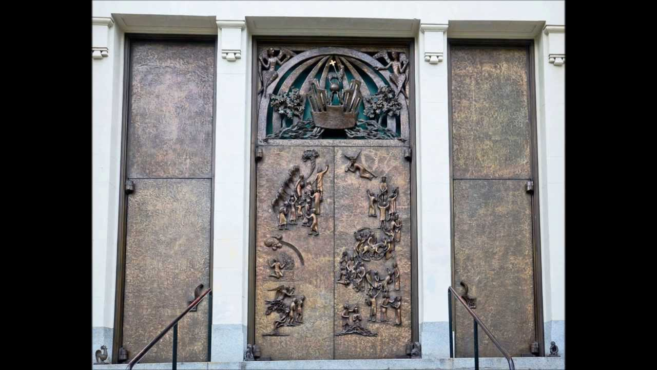 St. James Cathedral Ceremonial Bronze Doors & St. James Cathedral Ceremonial Bronze Doors - YouTube