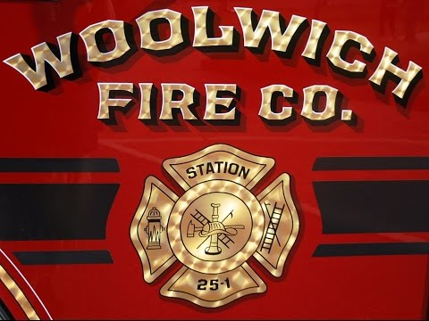 """Woolwich Fire Co.""""Brotherhood Forged In Fire Forever"""""""