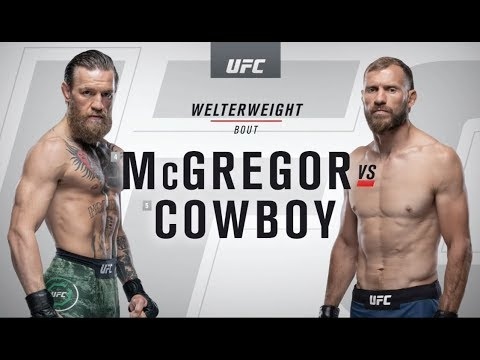 UFC 246: Conor