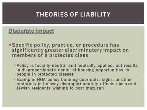 Fair Housing Law & Practice
