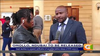 NYS suspects Omollo and Ndumbai to be released #CitizenExtra