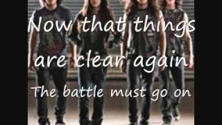 Black Tide Light From Above with lyrics