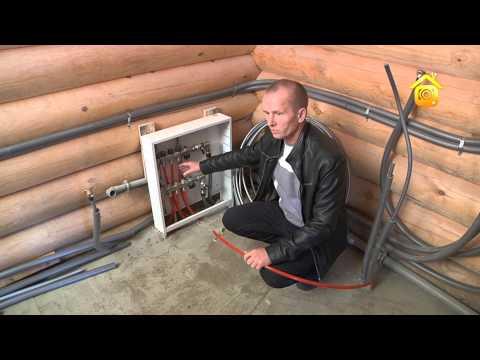 видео: Нюансы прокладки трубопроводов в деревянном доме // forumhouse