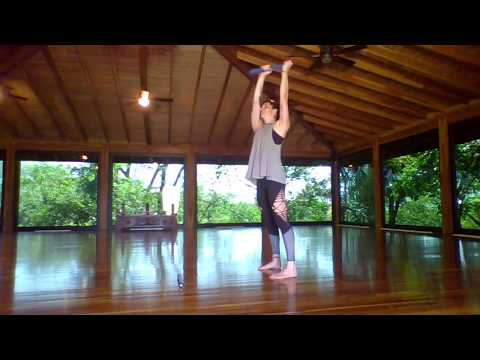 Clubbell Yoga AMRAP Core Workout
