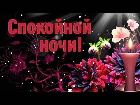 Спокойной ночи, приятных снов! Пусть завтра будет добрый день!
