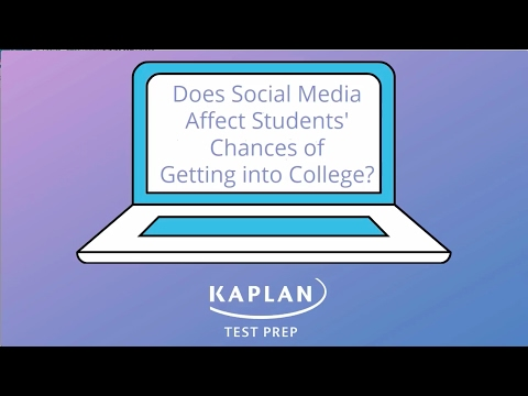 Kaplan Test Prep Survey: College Admissions Officers Say Social Media Impacts Applicants