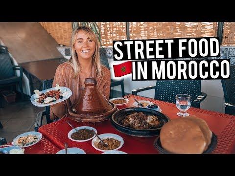 We Tried Moroccan Street Food in Marrakech