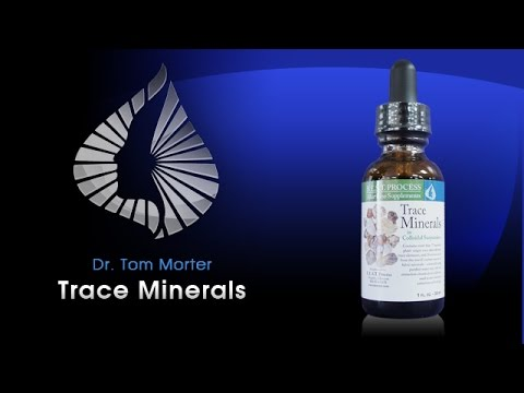 Morter Health - Benefits of Trace Minerals with Dr. Tom Morter
