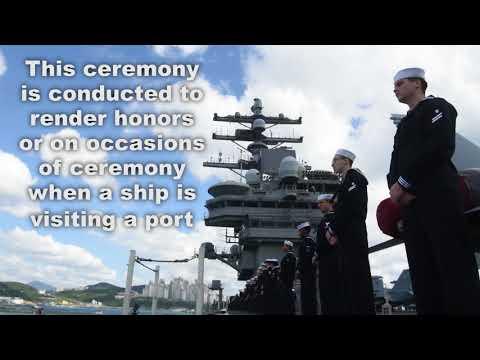 2017 USS Ronald Reagan Busan Arrival