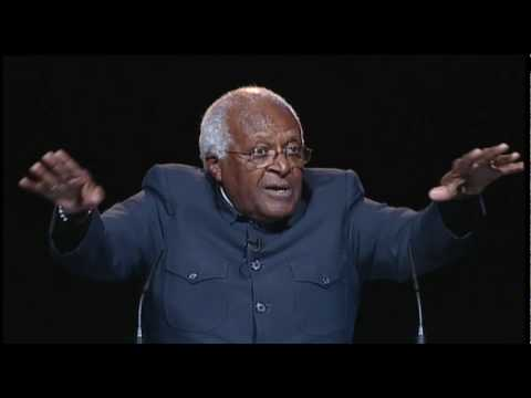 Desmond Tutu addresses One Young World