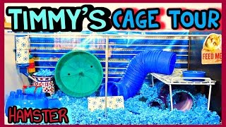 Timmy's HAMSTER Cage Tour | January 2015 Thumbnail
